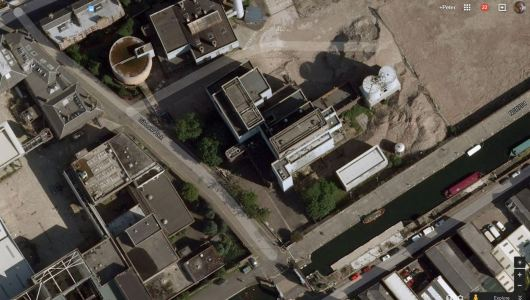 The Brewery on Google Earth